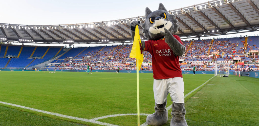 Romolo, la mascotte dell'AS ROMA